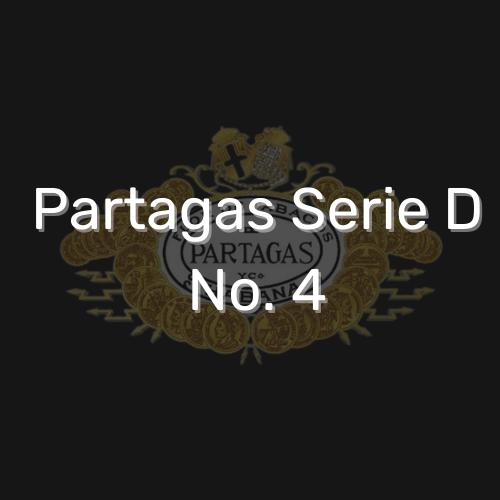 פרטגס סדרה D מספר 4 סיגר קובני משובח