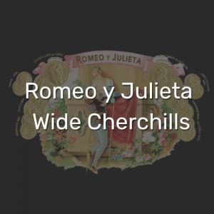 רומיאו וג'וליאט ווייד צ'רצ'יל | Romeo y Julieta Wide Cherchills