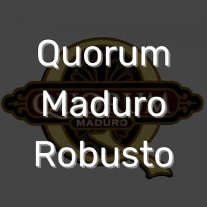 סיגר קוורום מדורו רובוסטו | Quorum Maduro Robusto