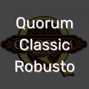 סיגר קוורום קלאסיק רובוסטו | Quorum Classic Robusto
