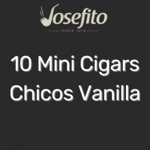 מיני סיגר צ'יקוס בטעם וניל | Mini Cigars Chicos Vanilla