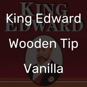 קינג אדוארד טיפ עץ וניל | King Edward Wooden Tip Vanilla