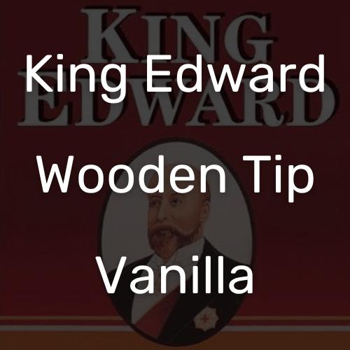 קינג אדוארד טיפ עץ וניל סיגר
