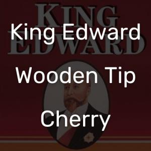 קינג אדוארד טיפ עץ שרי   King Edward Wooden Tip Cherry