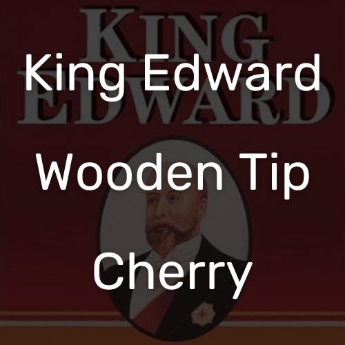 קינג אדוארד טיפ עץ שרי סיגר מטבק אמריקני משובח