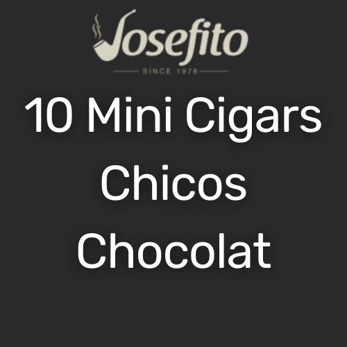 מיני סיגר צ'יקוס בטעם שוקולד המגיעים ב10 יח'
