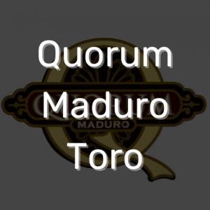סיגר קוורום מדורו טורו   Quorum Maduro Toro