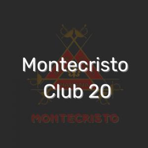 מונטקריסטו קלאב 20 | Montecristo Club 20